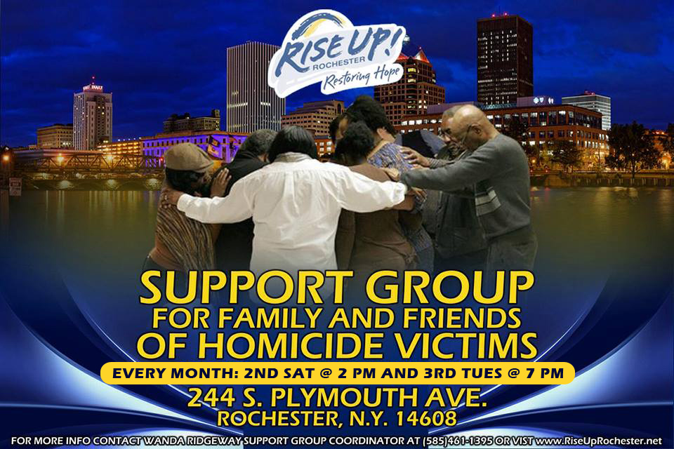 Rise Up Rochester Monthly Support Group